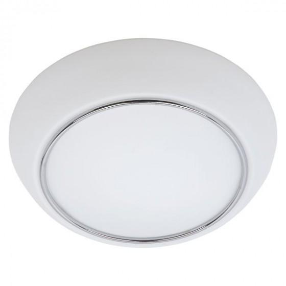 Γυάλινο φωτιστικό οροφής λευκό Φ24cm μονόφωτο E27