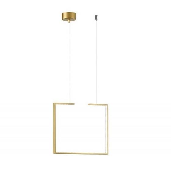 Μεταλλικό κρεμαστό πλαίσιο LED 40x40cm