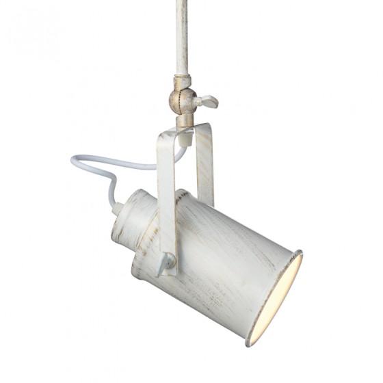 Λευκό σποτ οροφής μονόφωτο Vintage ACA