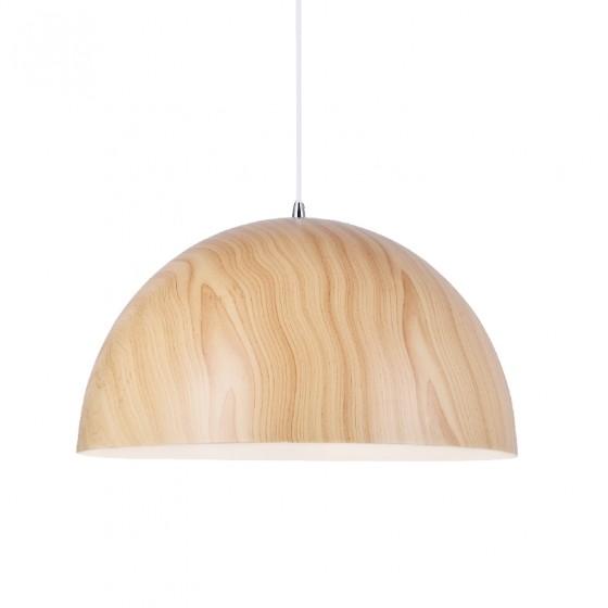 Μεταλλική καμπάνα Ø40cm σε απόχρωση ξύλου ACA
