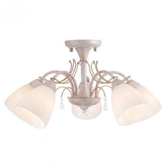 Elegant πεντάφωτο φωτιστικό οροφής ACA