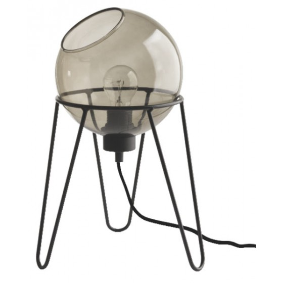 Επιτραπέζιο φωτιστικό με γυάλινη μπάλα Ø20cm