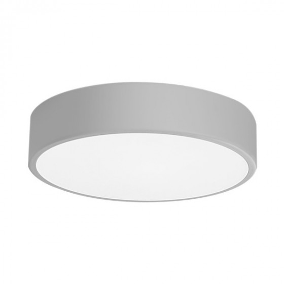 Πλαφονιέρα οροφής LED 21W Ø30cm γκρι