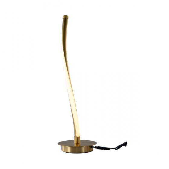 Επιτραπέζιο γραμμικό φωτιστικό LED 56cm χρυσαφί
