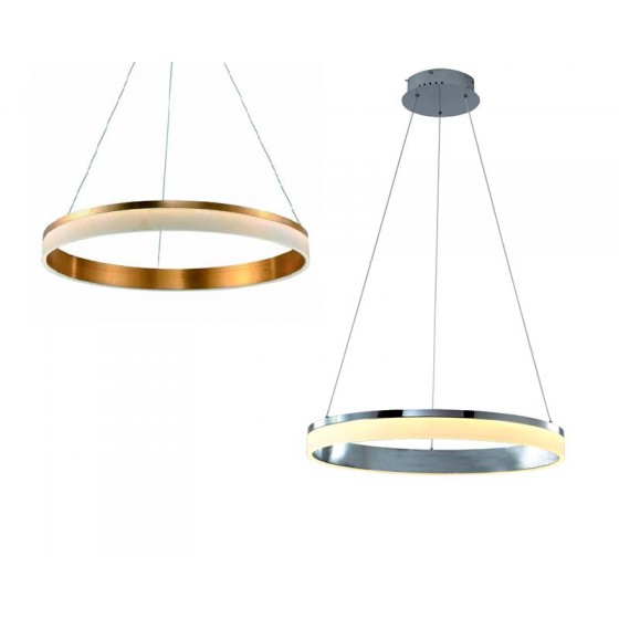 Κρεμαστό LED με δαχτυλίδι Ø50cm