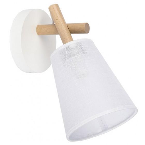 Ξύλινη απλίκα με υφασμάτινο καπέλο