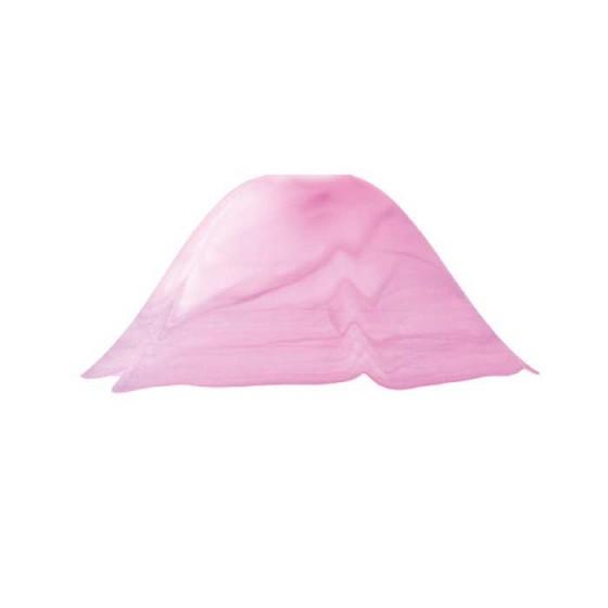 Γυάλινη ροζ καμπάνα Ø33cm ACA