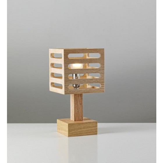 Ξύλινο πορτατίφ κύβος 15x15cm