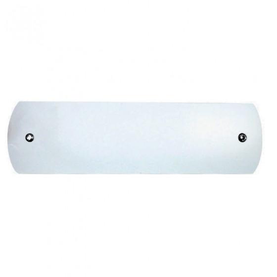 Λευκή μεταλλική απλίκα μπάνιου ACA