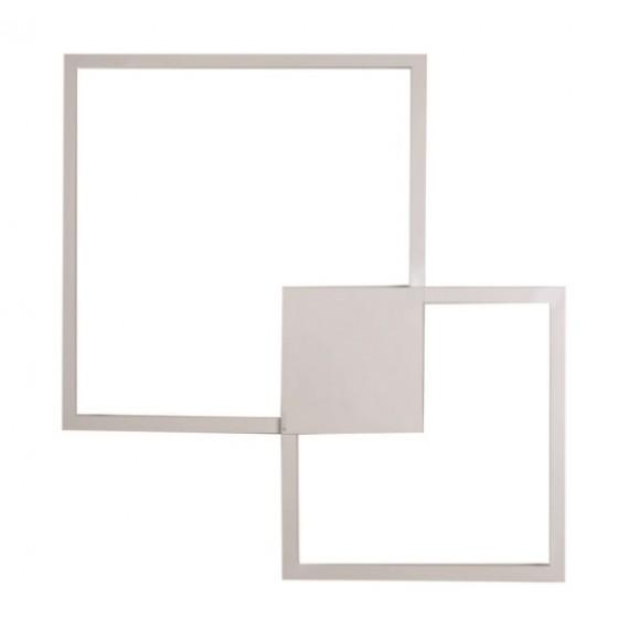 Απλίκα LED τετράγωνη 72x72cm
