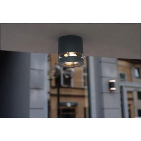 Mini στεγανό φωτιστικό οροφής Ø10cm GU10