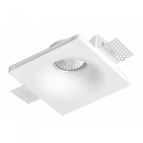 Γύψινο σποτ οροφής χωνευτό 13x13cm