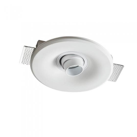 Γύψινο σποτ οροφής χωνευτό Ø20cm