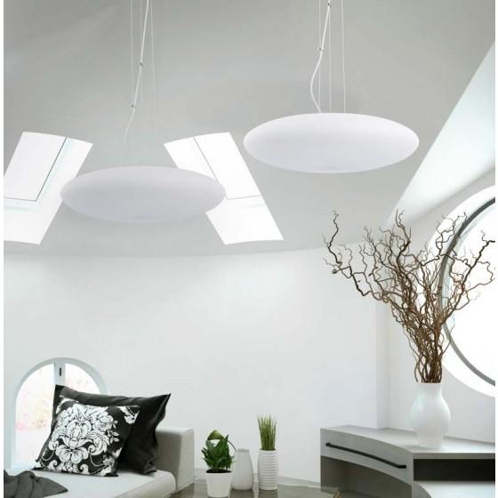 Γυάλινο οβάλ κρεμαστό LED