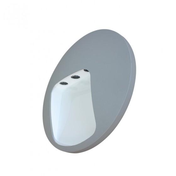 Τρίφωτη στεγανή απλίκα LED
