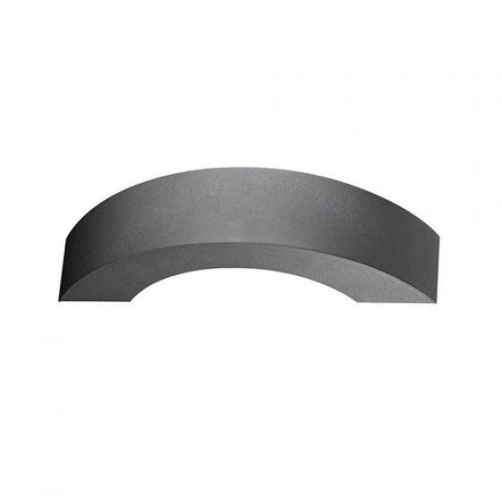 Ημικυκλική στεγανή απλίκα LED