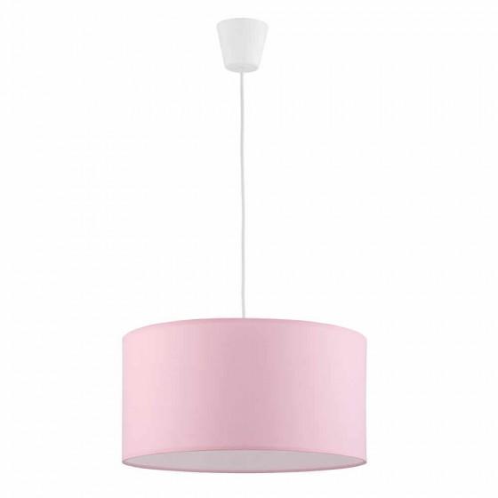 Κρεμαστό παιδικό φωτιστικό Ø40cm υφασμάτινο ροζ