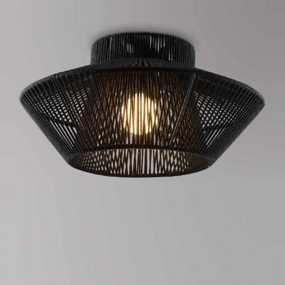 Φωτιστικό οροφής καλάθι από σχοινί Ø60cm