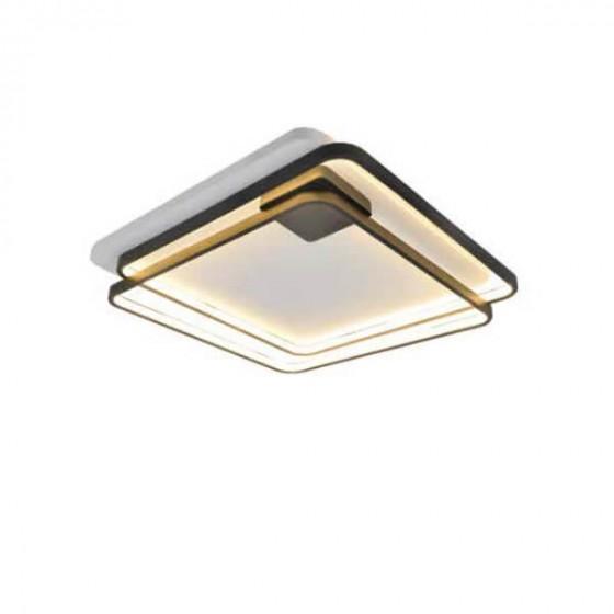 Μοντέρνα πλαφονιέρα οροφής LED 57x57cm
