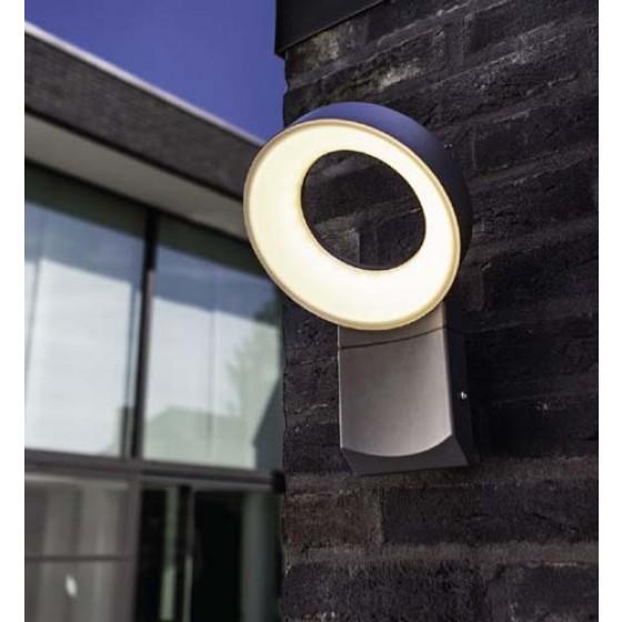 Στεγανή απλίκα LED με στρογγυλή κεφαλή