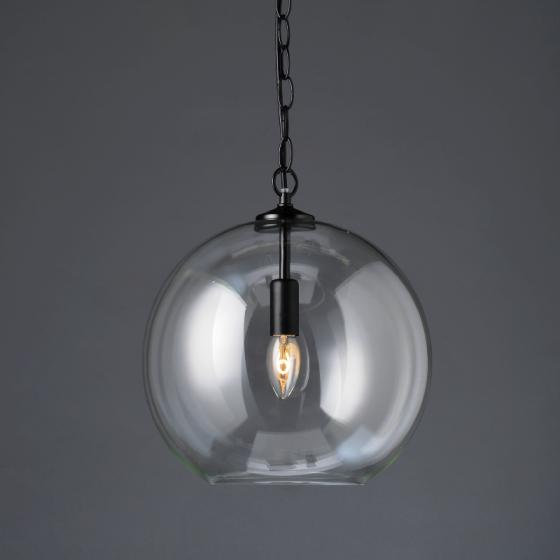 Vintage μονόφωτη γυάλινη μπάλα Ø30cm ACA