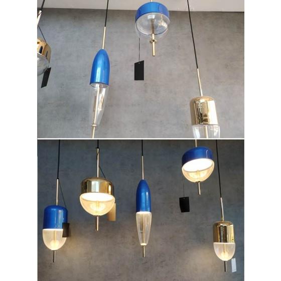 Κρεμαστό φωτιστικό από αλουμίνιο Ø12cm LED