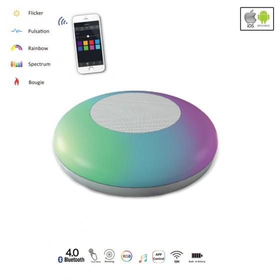 Μουσικό κουτί LED με εναλλασσόμενα χρώματα