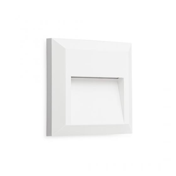 Τετράγωνη απλίκα 12.5cm κάθετου φωτισμού LED