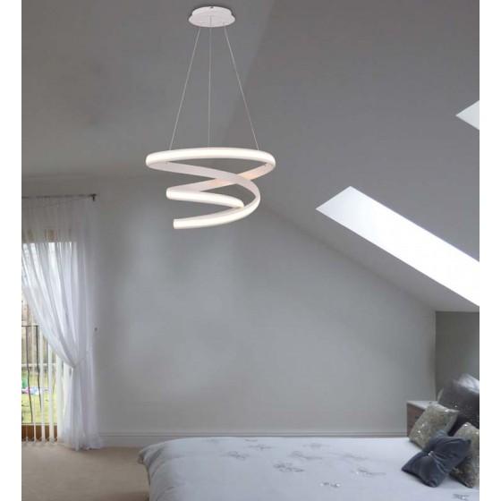 Κρεμαστό σπειροειδές φωτιστικό LED Ø60cm