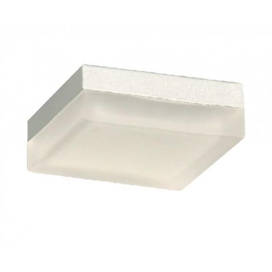 Τετράγωνο φωτιστικό με αμμοβολή γυαλί ACA