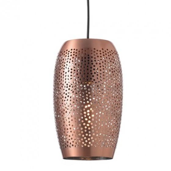 Μοντέρνο μαροκινό φωτιστικό κρεμαστό οβάλ Ø16x27cm