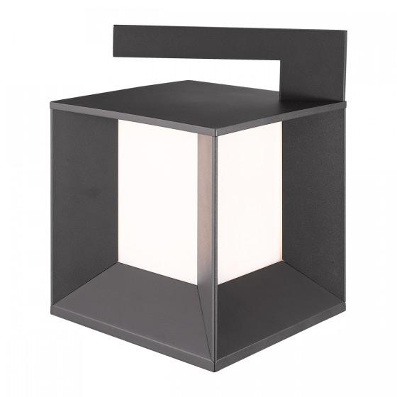 Στεγανό φωτιστικό δαπέδου κύβος 22x22cm