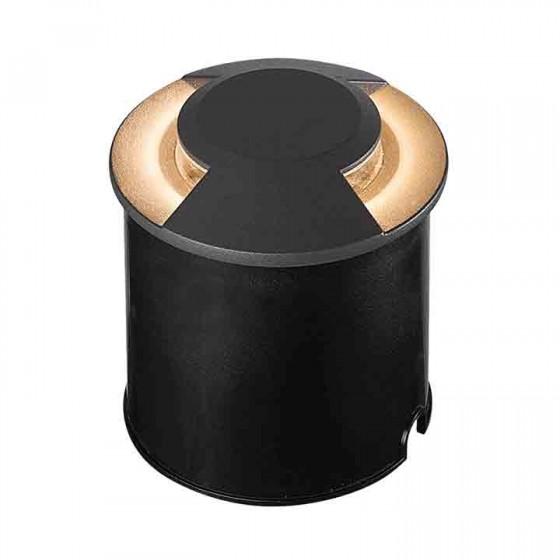 Χωνευτό σποτ Ø12cm διπλής δέσμης LED