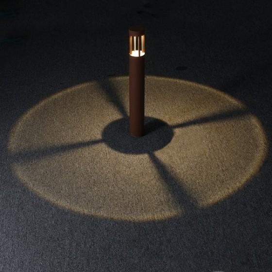 Κυλινδρικό κολωνάκι Ø9cm LED