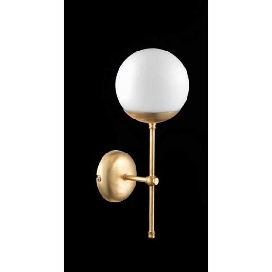 Χρυσαφί απλίκα με μπάλα Ø15cm