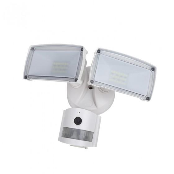 Προβολέας με ανιχνευτή κίνησης, κάμερα & μικρόφωνο ACA