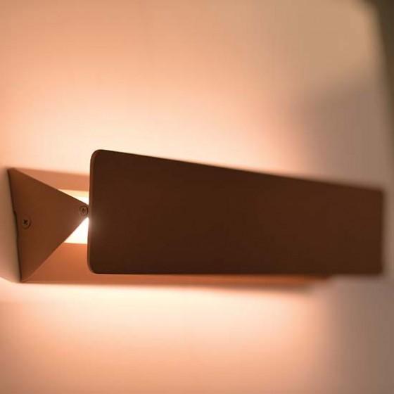 Γραμμική απλίκα LED 46cm μεταβλητής γωνίας φωτισμού
