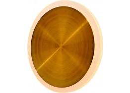 Στρογγυλή μεταλλική απλίκα LED Ø18cm