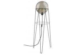 Φωτιστικό δαπέδου με γυάλινη μπάλα Ø30cm