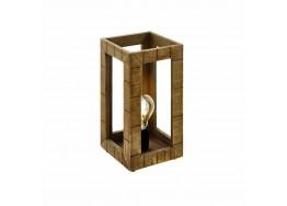 Ξύλινο ορθογώνιο πορτατίφ 17x34cm