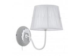 Απλίκα με υφασμάτινο λευκό καπέλο διακοσμημένο