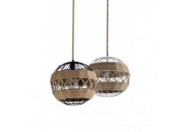 Μεταλλική μπάλα Ø35cm με διακόσμηση από σχοινί