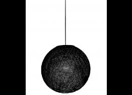 Υφασμάτινη βαμβακερή μαύρη μπάλα