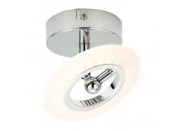 Σποτ οροφής LED 360° χρώμιο Ø12cm