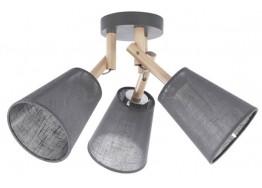 Ξύλινο τρίφωτο οροφής με καπέλα