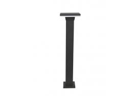 Κολωνάκι 65cm στεγανό με τετράγωνη κεφαλή LED