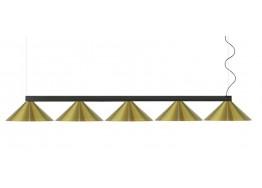 Πεντάφωτη ράγα με κεφαλές Ø19cm