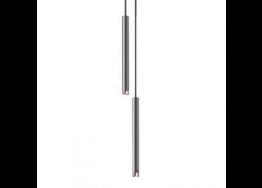 Σωληνωτό μονόφωτο από χάλυβα 43cm