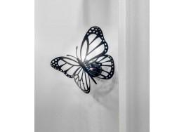 Μεταλλική απλίκα τοίχου πεταλούδα 35cm