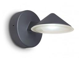 Τριγωνική απλίκα LED κάθετου εξωτερικού φωτισμού